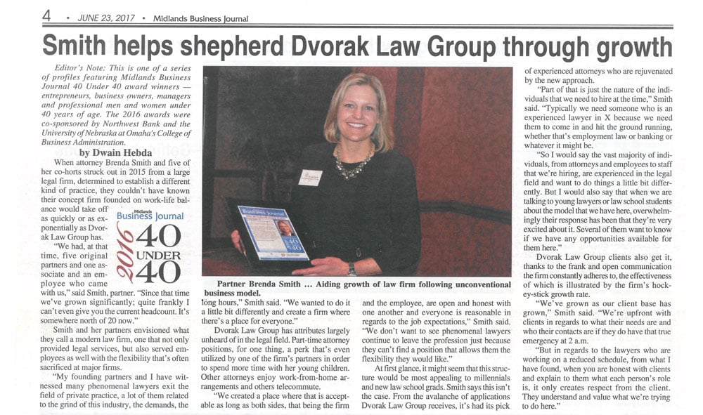 Brenda Business Journal Article 6-30-17
