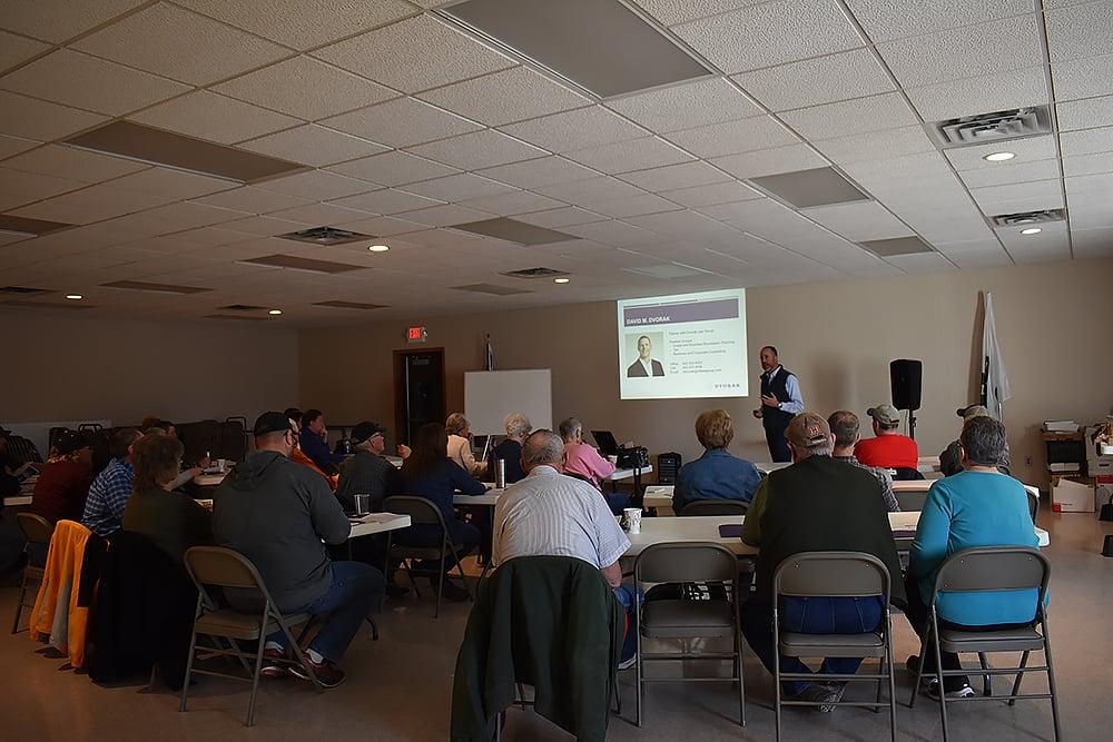 DLG Presents at UNL Workshop