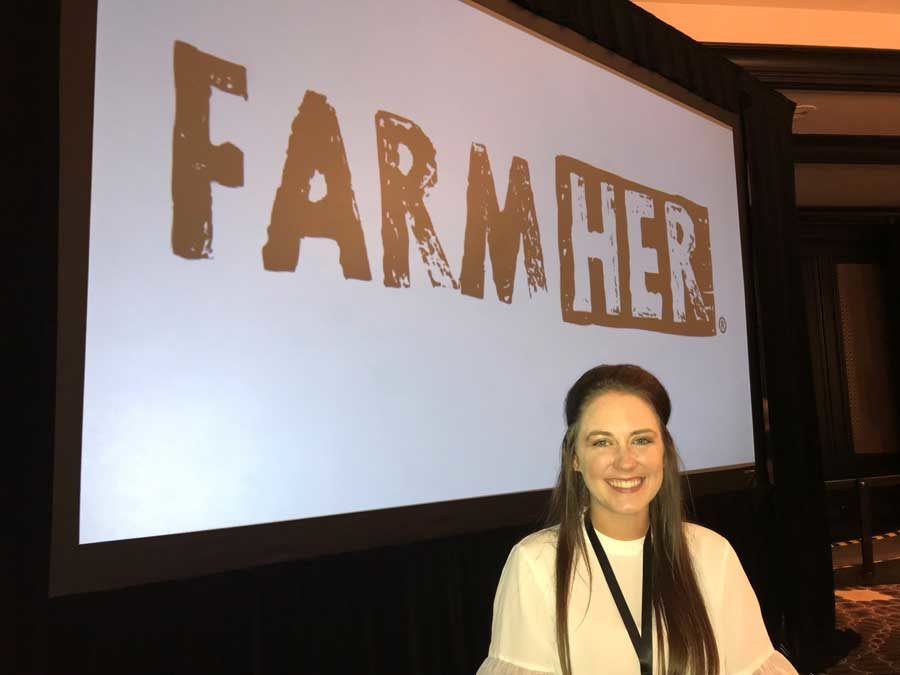 """Campbell Attends """"I Am FarmHer"""" Event"""