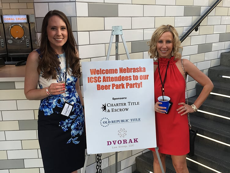 Dvorak Law Group Co-Hosts Party at ICSC Conference