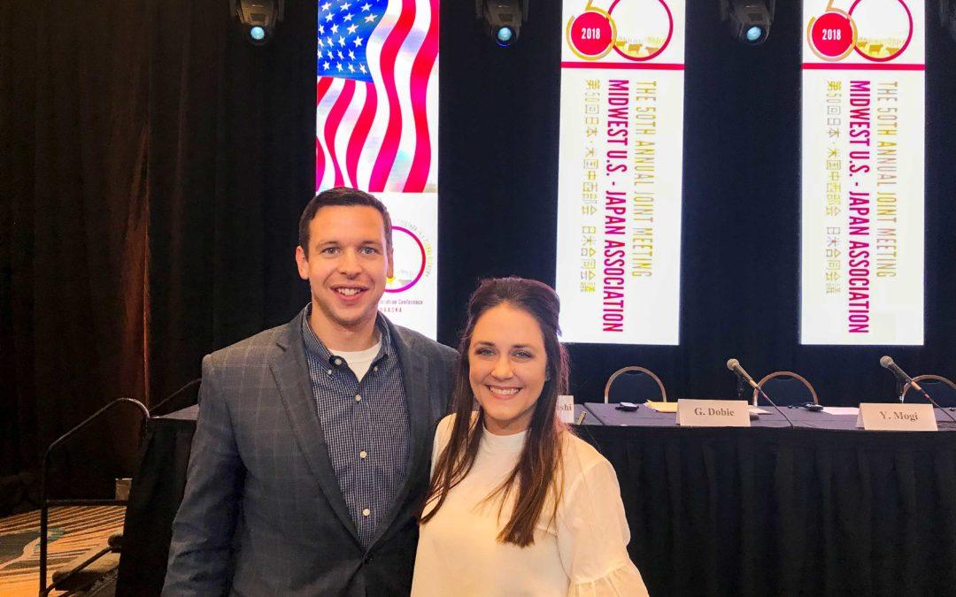 Dvorak Law Group Attends Midwest U.S. – Japan Association Conference