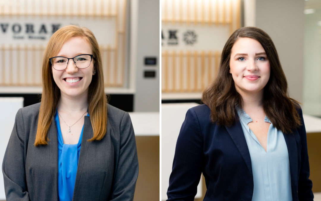 Claire Monroe and Dana Roche named new attorneys at Dvorak Law Group