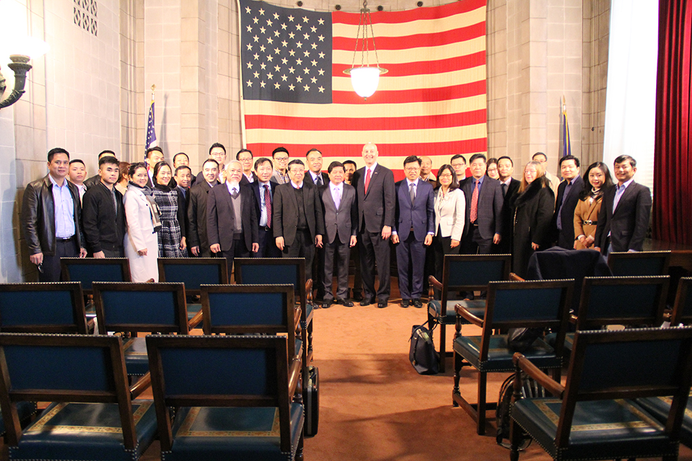 Dvorak Law Group Sponsors Nebraska Reception for Vietnamese Trade Delegation
