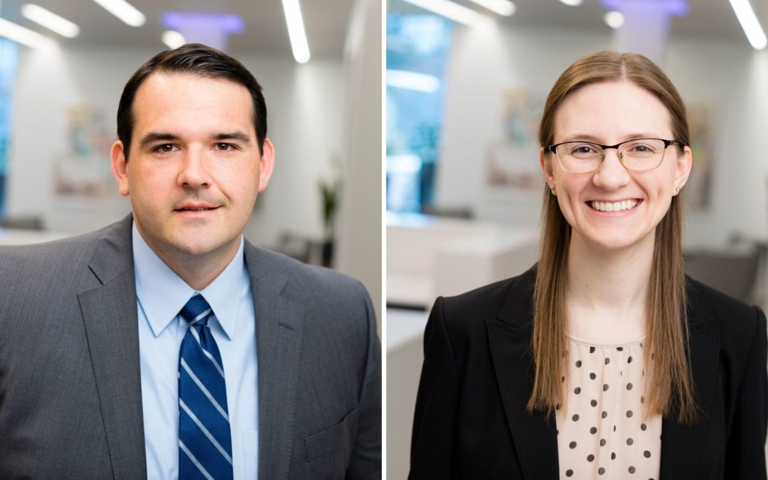 Dvorak Law Group Adds Two Attorneys, Graham and Patton