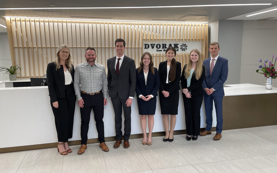 Dvorak Law Group Welcomes Seven Summer Associates to the Firm