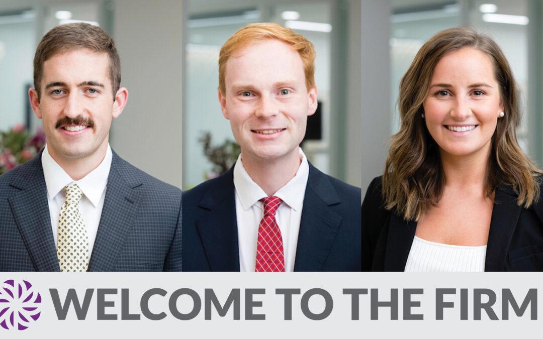 Dvorak Law Group Welcomes Three New Attorneys